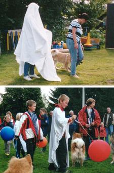 Gespenster - Spaß für Kinder und Hunde